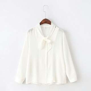 Instock / Ribbon Tie Front Shirt