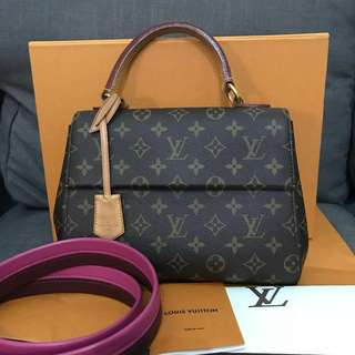 LV clunny bb monogram 2016 complete set with rec