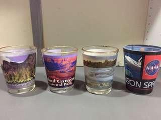 USA shotglasses