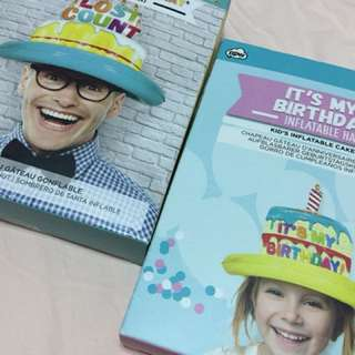 🎉Celebration Nation🎉 Inflatable birthday hat
