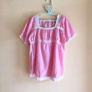 #123moveon Blouse pink