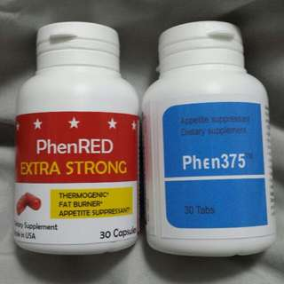 BEST COMBI - PHEN375 & PHENRED ULTIMATE WEIGHT LOST SLIMMING DIET PLANS