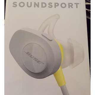 BOSE WIRELESS HEADSET SOUNDSPORT