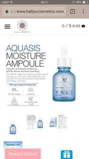 BNIB Dr G Aquasis Moisture Ampoule 30ml