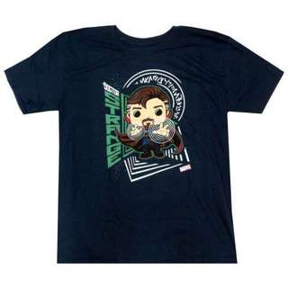 Marvel Collector Corps Exclusive Funko Doctor Strange T-Shirt (Medium)