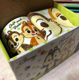Chip and dale 杯同毛巾套裝