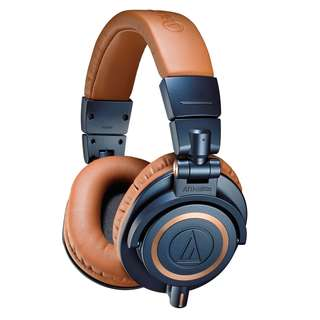 *rare* mint condition Audio-Technica ATH-M50xBL LIMITED EDITION Professional Monitor Headphones