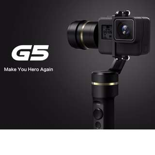Feiyu G5 3-Axis Splash Proof Gimbal Stabilizer for GoPro HERO6 / HERO5 / HERO4 /HERO3+
