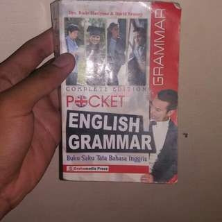 Buku grammar bahasa inggris