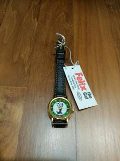 BRAND NEW WITH TAG! Cute Felix the Cat Ladies Watch