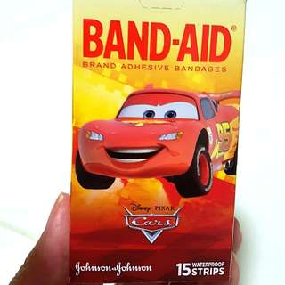 Cars Waterproof kids/children Plasters (band aid / bandages)