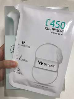 Wish Formula C450 Bubble Peeling Pad - For Body (4pcs)