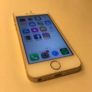 Iphone SE 64gb Gold with box