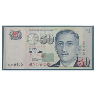 Singapore Portrait Series $50 banknote 128265