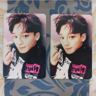 EXO Chen - Sing For You (Korean & Chinese Ver.) Photocard