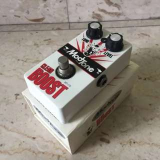 Modtone Clean Boost Distortion Overdrive Preamp Electric Guitar Effect Pedal Stompbox MT-CB