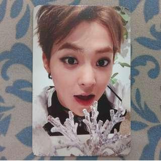 EXO Xiumin - Sing For You (Korean ver.) Photocard