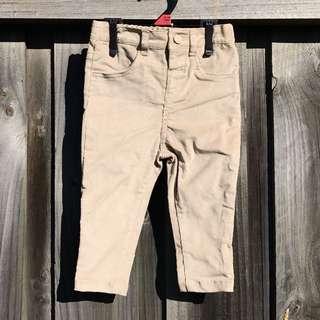 BNWT Khaki Corduroy Pants