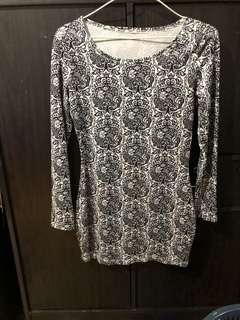 Bodycon Printed Dress