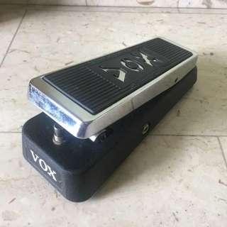 Vox Wah Wah V847 USA made Discontinued Electric Guitar Effects Pedal Rare Stompbox