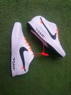Nike Flyknit Raley X Off White