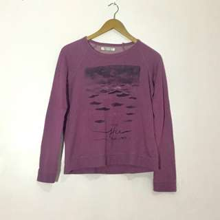 ROXY Violet Sweatshirt