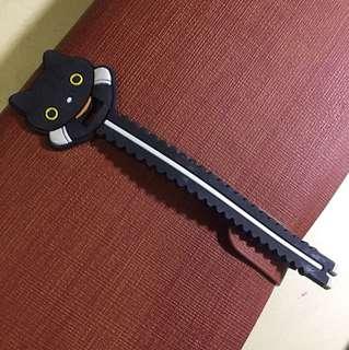 可愛黑貓卷線帶