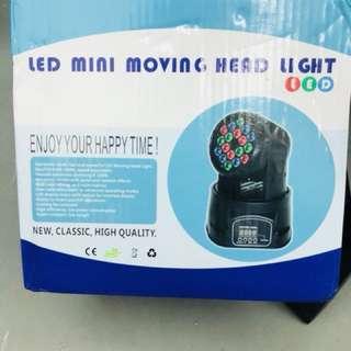 LED MINI MOVING HEAD LIGHT