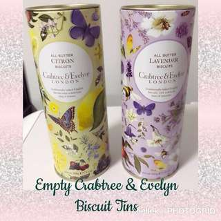 Beautiful Biscuit Tins (empty)