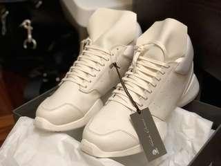Rick Owens X Adidas Runner (White) (Brand New) SS16