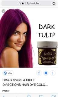 Tulip hair dye