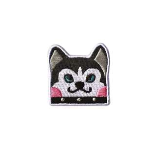 [instock] Husky Embroidery Brooch By Mark The Universe