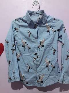 Birdy Blue Top