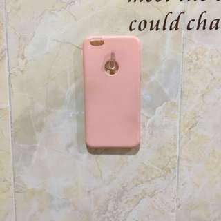 Pink softcase iphone 6+