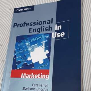 🚚 Professional English in Use  Marketing