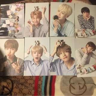 VT x BTS Postcard