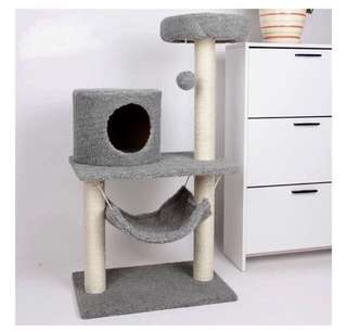 [INSTOCK] Smoke Grey Cat Condo House