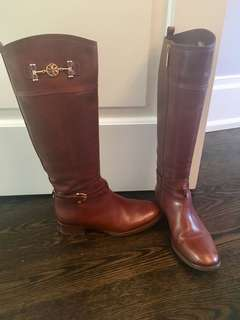 Tory Burch Riding Boots - Real - Size 9