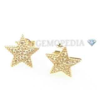 Silver Earrings (Star Shape)