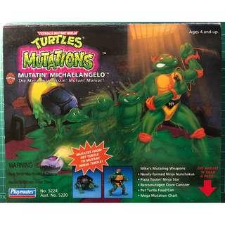 絕版 1992/1993年 Teenage Mutant Ninja Turtles 忍者龜 Mutations