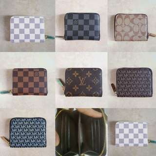 Assorted  coin purse/card holder