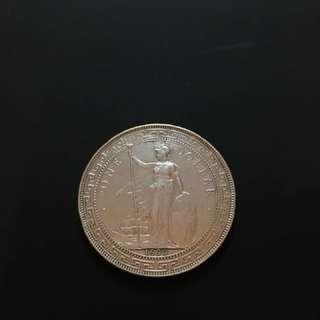 1899B - British Trade Dollar