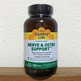 Country Life Nerve & Osteo Support