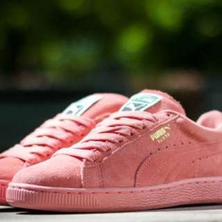 Puma Suede Shoes Sneakers Pastel Pink