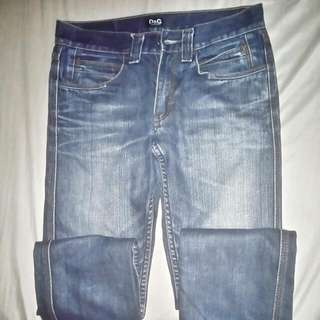 -D&G- Maong Pants Size 30