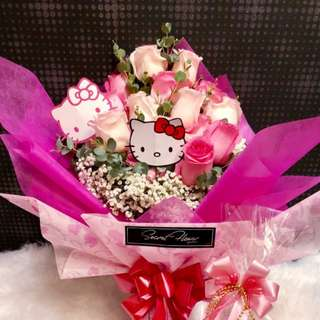 Hello Kitty Rose Bouquet