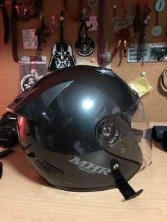 MHR open face helmet Medium