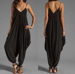 Loose Jumpsuit Pants Dress