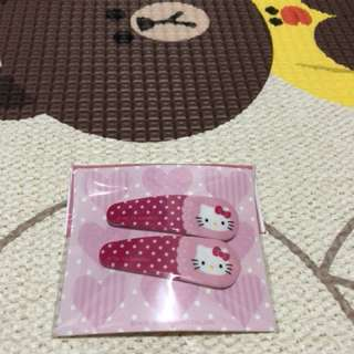Hello Kitty hairclip korea