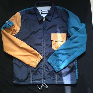 BEAMS BOY 拼色coach jacket 教練外套